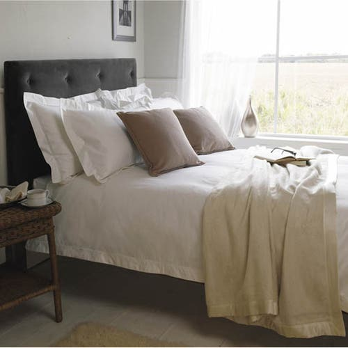 Luxury Egyptian 1000 Thread Cotton Sateen - Oxford Duvet Cover
