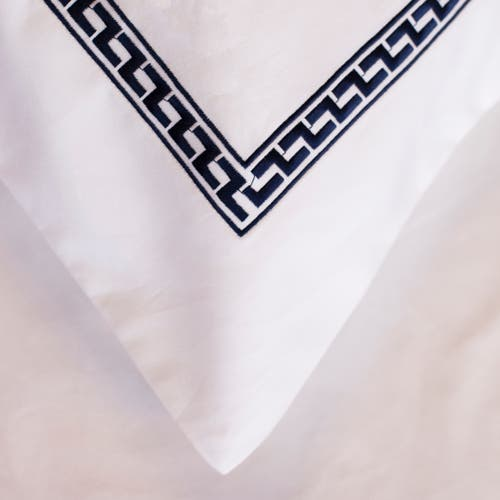 Aztec 550 Thread Cotton Sateen - Navy Blue - Pillowcase