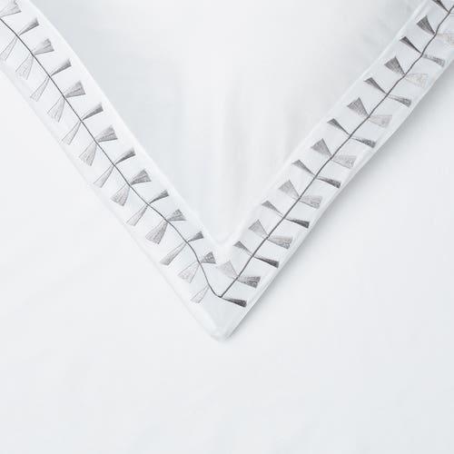 Cleopatra 400 Thread Cotton Sateen - Silver - Pillowcase