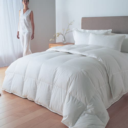 Down Feel Microfibre/Cotton Percale Duvet