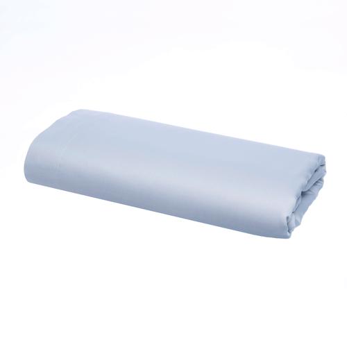 Pelle d'uovo 300 Thread Cotton Sateen - Sky Blue - Flat Sheet