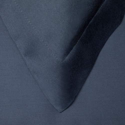 Pelle d'uovo 300 Thread Cotton Sateen - Navy - Pillowcase