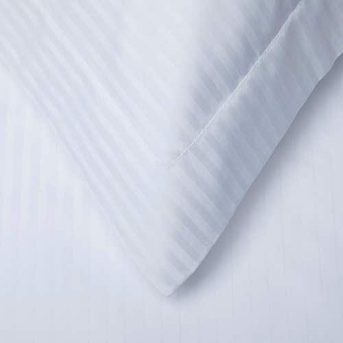 Egyptian 300 Thread Cotton Sateen Stripe - Pillowcase