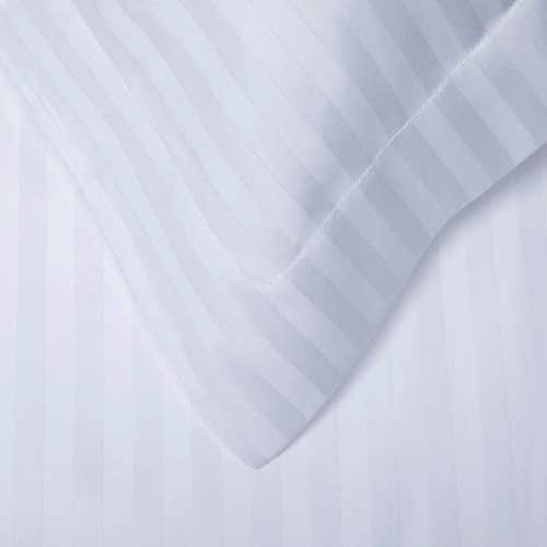 Easy Care 300 Thread Polycotton Sateen Stripe (2cm) - Pillowcase
