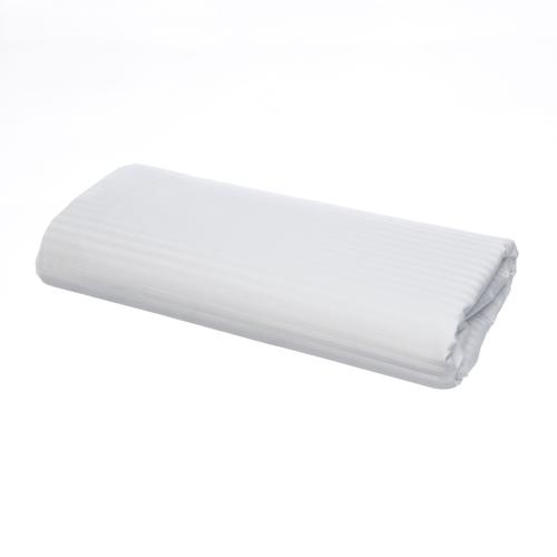 Egyptian 500 Thread Cotton Sateen Micro-stripe - Flat Sheet