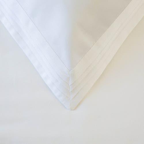 Egyptian 600 Thread Cotton Sateen Triple Pin Tuck - Pillowcase