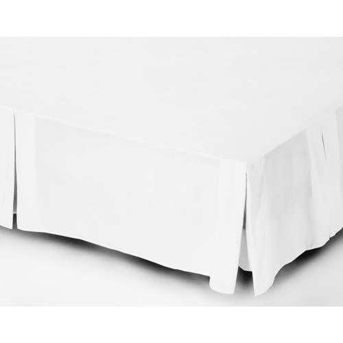 EGYPTIAN 200 THREAD COTTON PERCALE - PLATFORM VALANCE